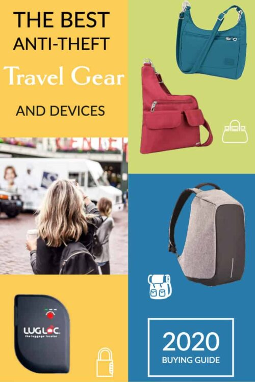 Buying guide to the best anti-theft travel gear, anti-theft bags and pickpocket proof clothing on the market. With bonus safe travel tips. | #travelhandbags #antitheft #safetravel #traveltips