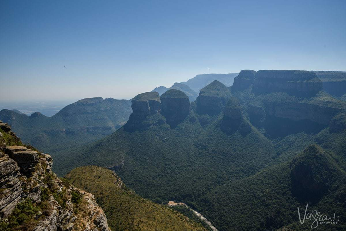 The Three Rondavels on the Panorama Route South Africa