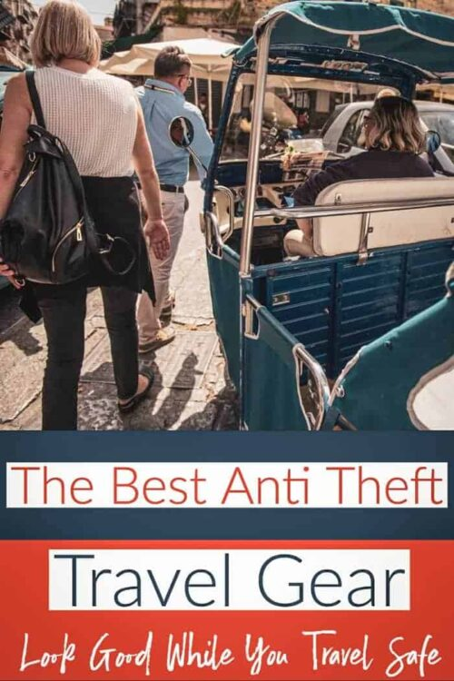 The best anti theft travel gear - a complete guide #antitheft #travel #luggage #backpacks