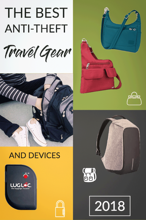 A complete guide to the best anti-theft travel gear, anti-theft bags and pickpocket proof clothing on the market. With bonus safe travel tips. | #travelhandbags #antitheft #safetravel #traveltips