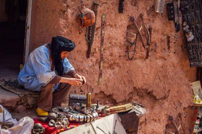 Moroccan trader
