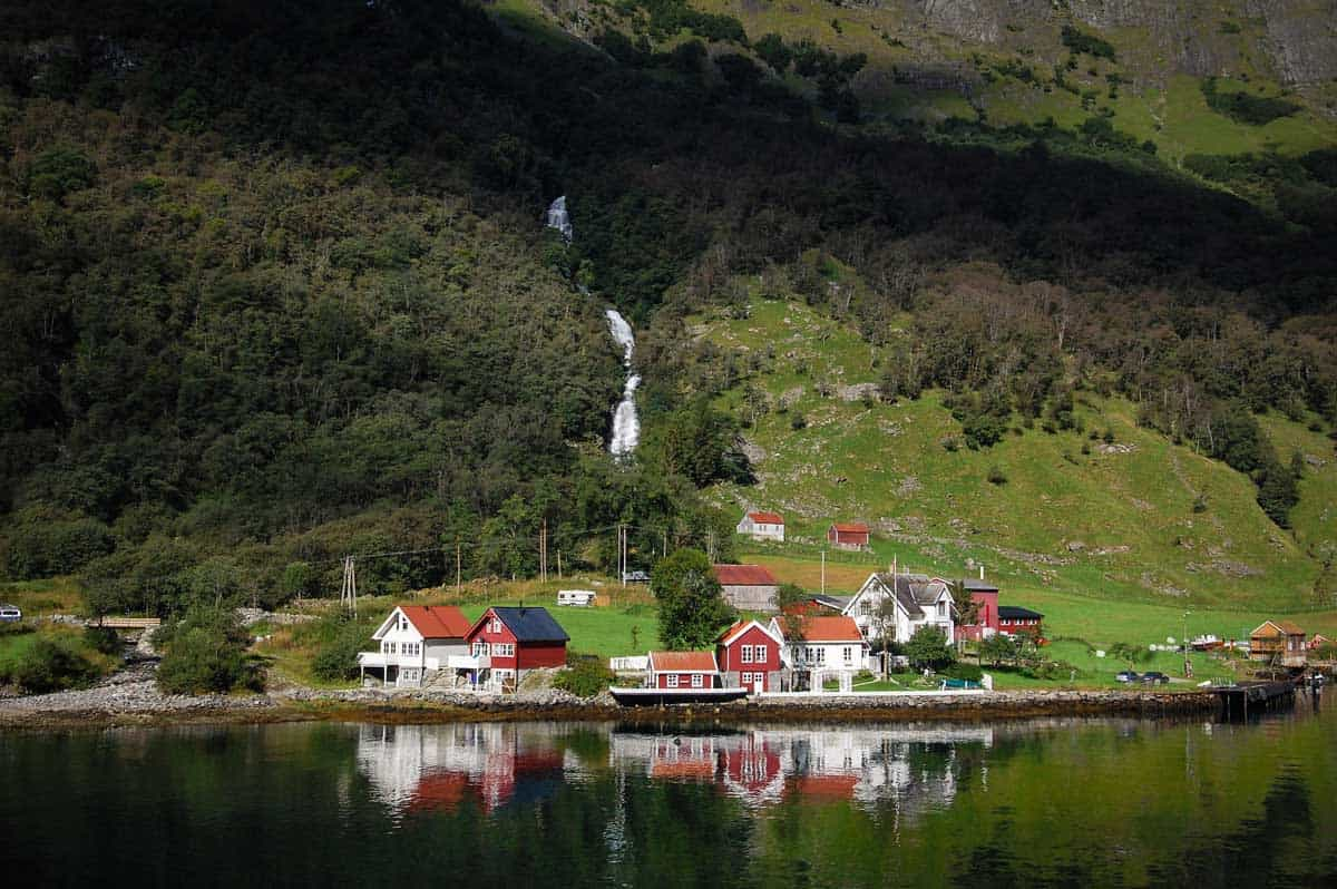 Flåm Norway - Flåm Railway