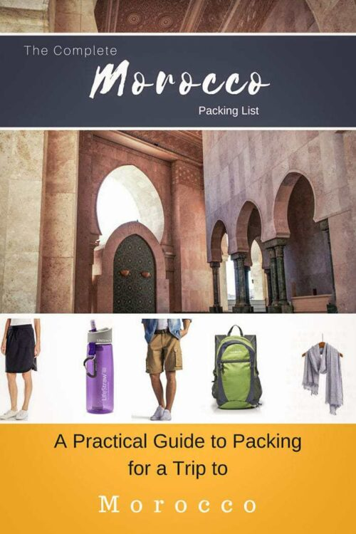 A Practical Guide to Packing for Morocco | Morocco Packing List #morocco #packinglist