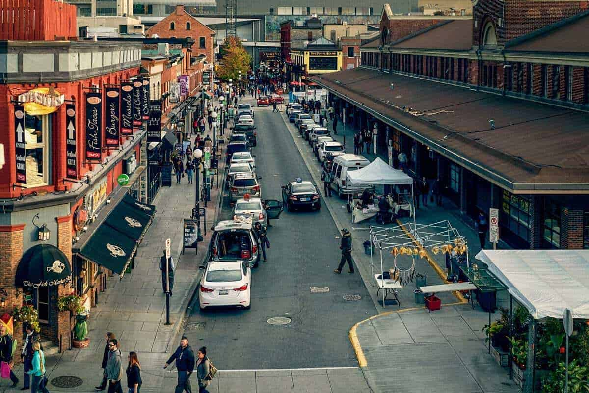 people making there way to ByWard Market in Ottawa is one the best things to do and see on your visit to Canada