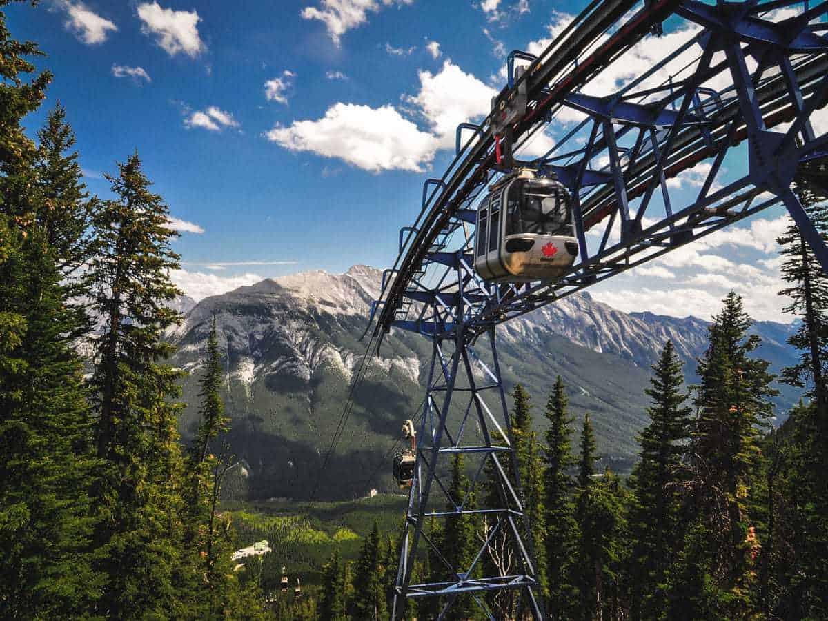 Banff Gondola- Things to do in Summer in Banff