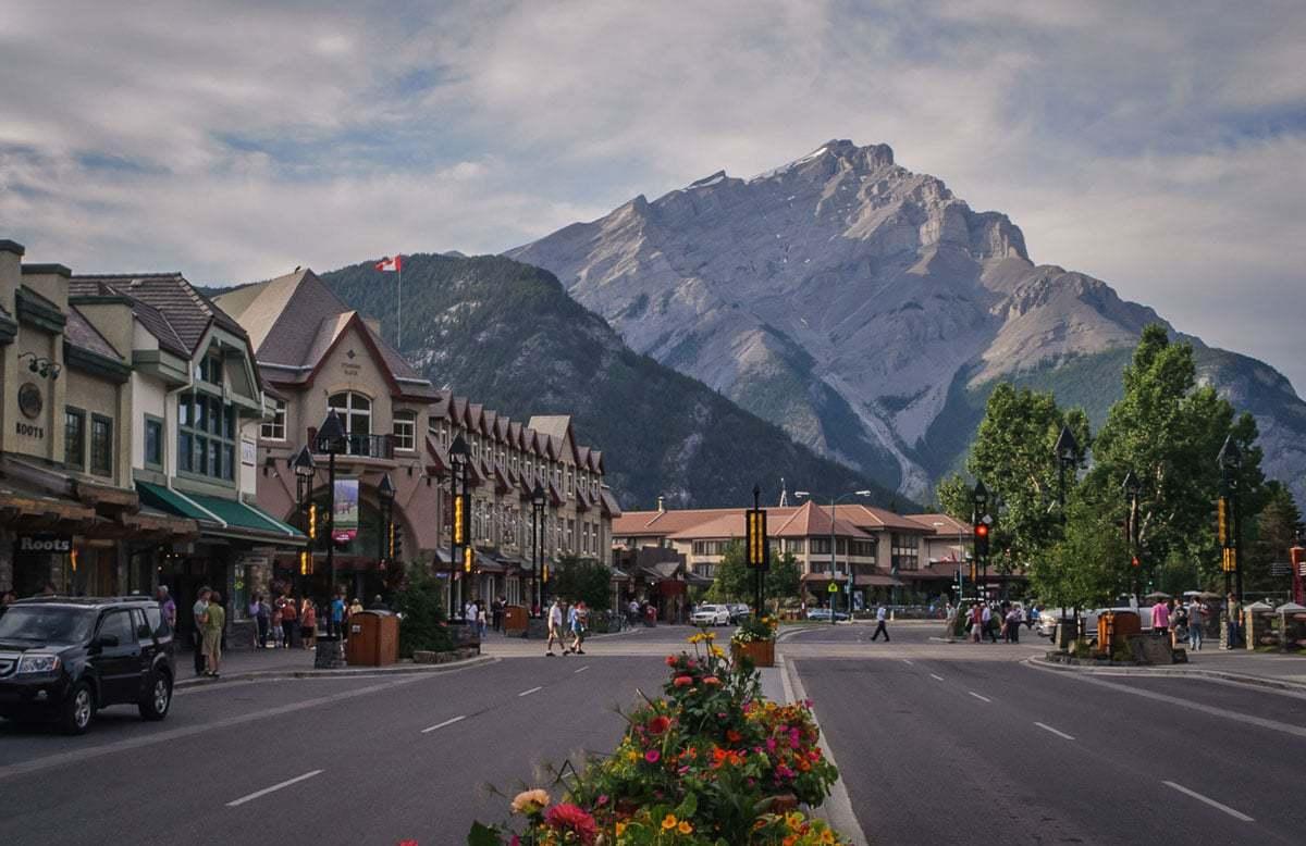 Banff Avenue Canada
