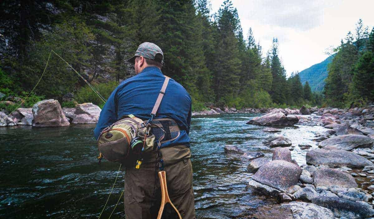 Fishing in Banff