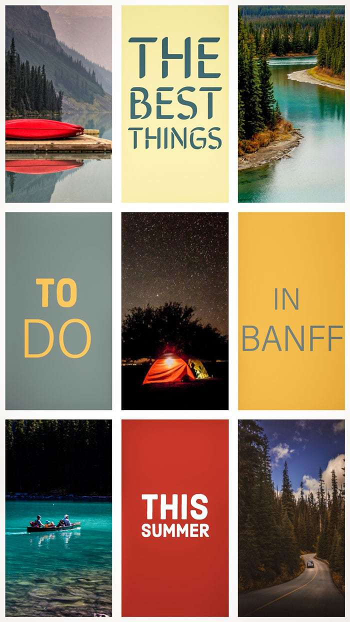 Discover the best things to do in Banff this summer. #banff #canada #traveltips