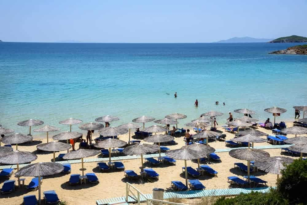Keep Valuables safe at the beach - Greek Islands
