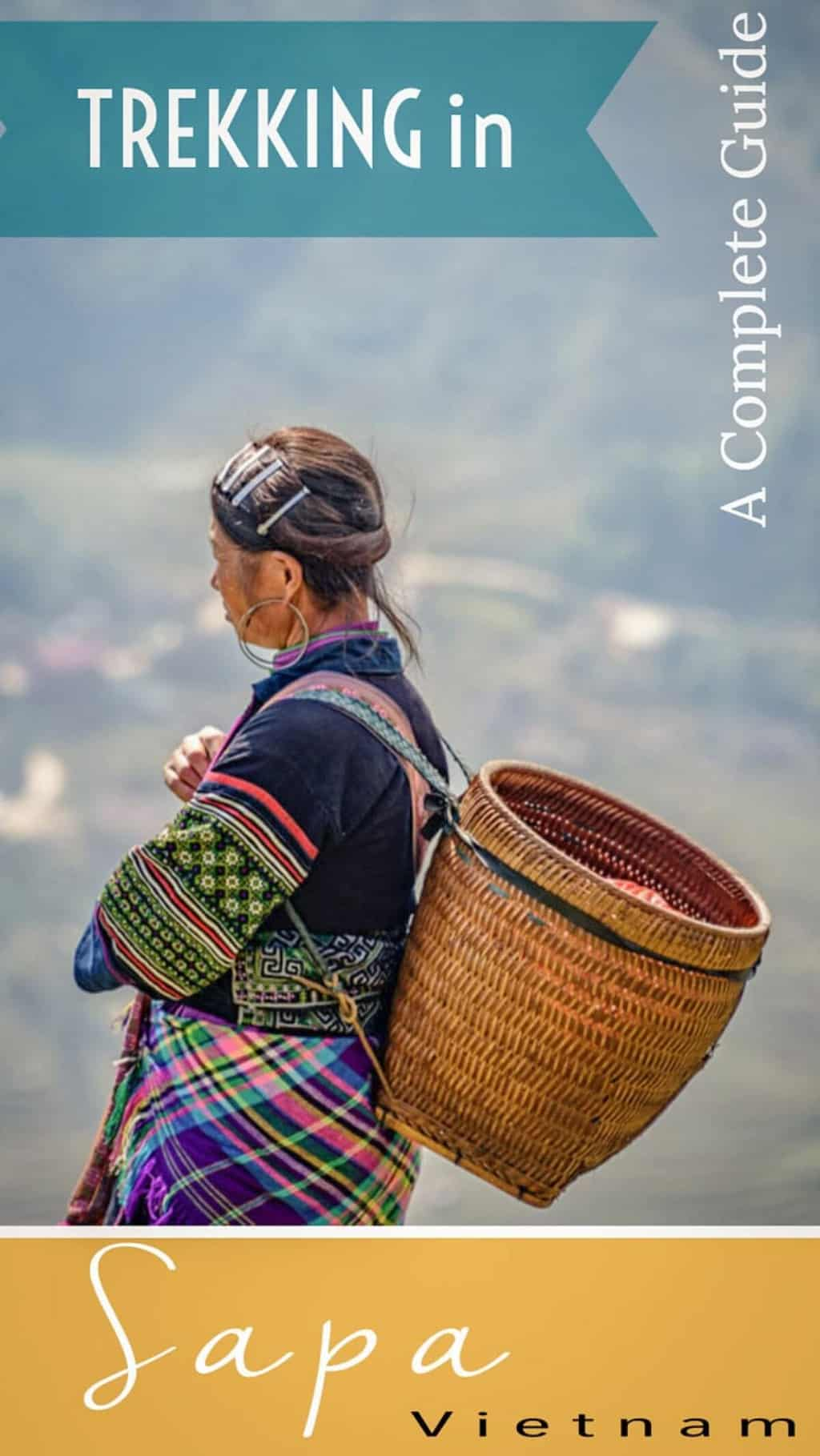 A Guide to Trekking in the Mountains of Sapa Vietnam [With packing guide and video] - Trekking in Sapa is a must do on every Vietnam itinerary. #vietnam #sapa