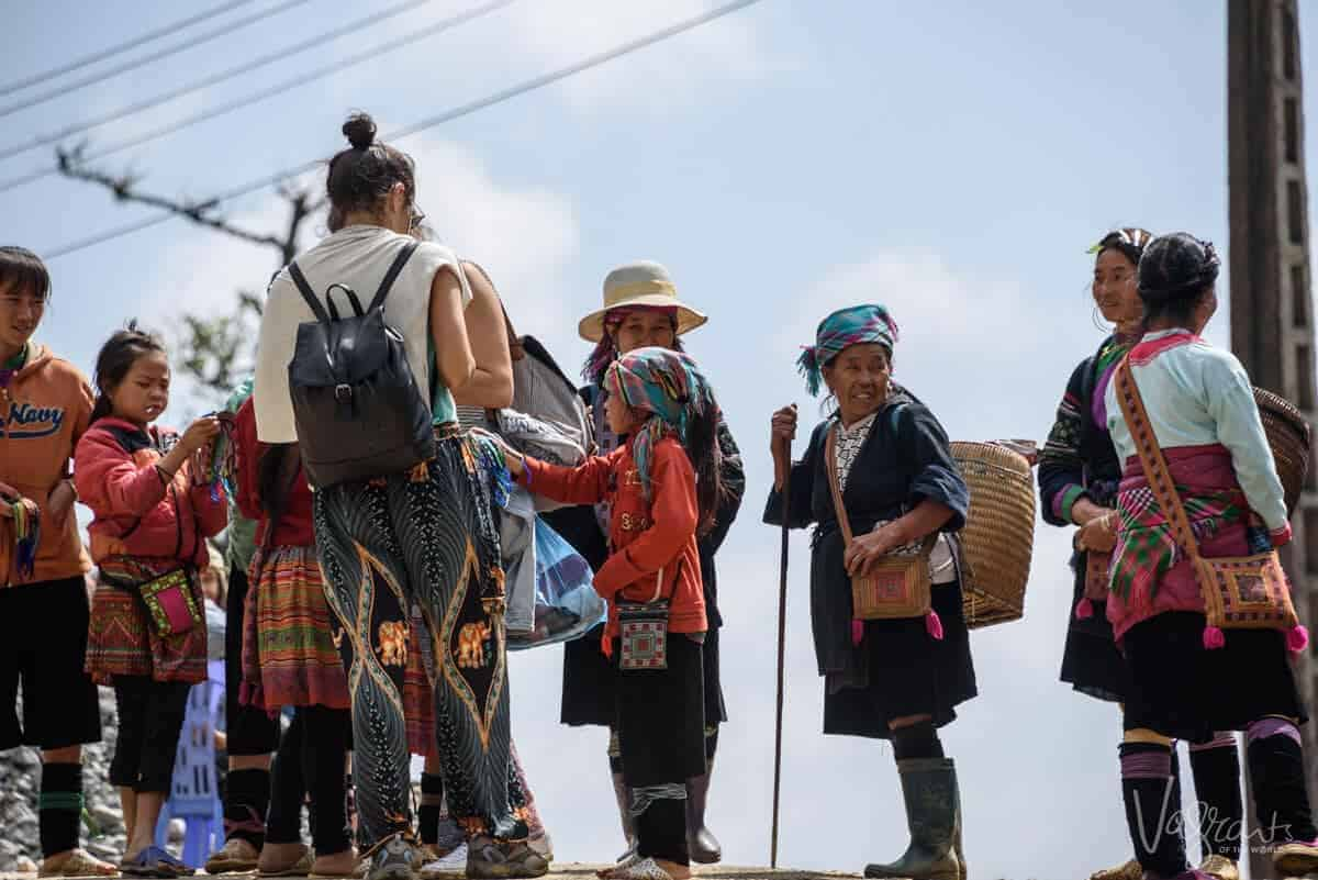 Villagers in Sapa Vietnam