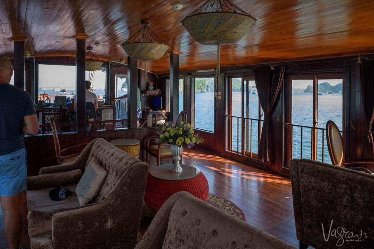 Halong Bay Junk Boat