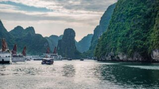 Take a Cruise on the Iconic Halong Bay Junk Boats