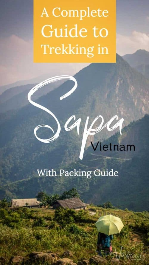A Guide to Trekking in Sapa Vietnam | Sapa Vietnam Packing Guide | Hiking in Sapa #vietnam #sapa #packinglist