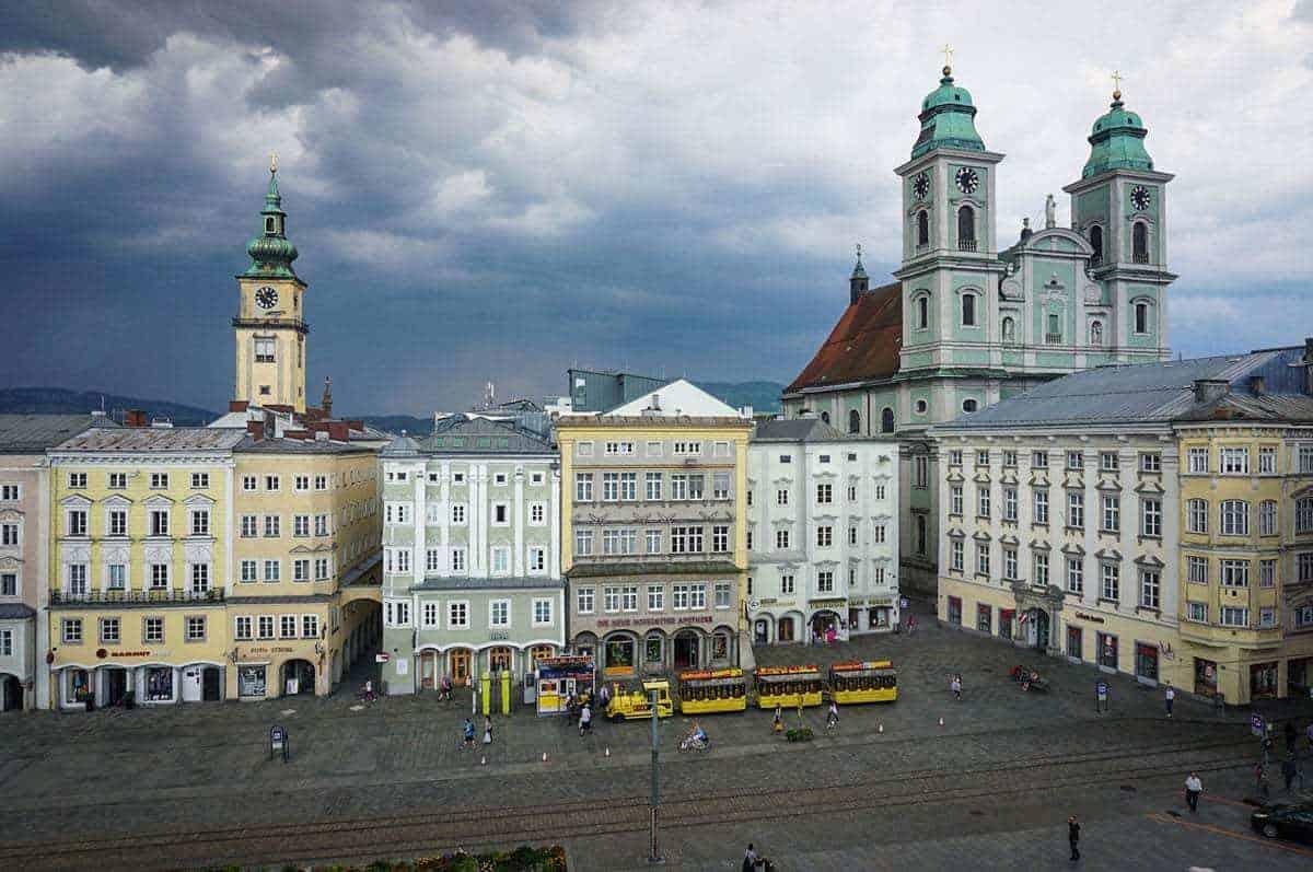 Old town Linz Austria
