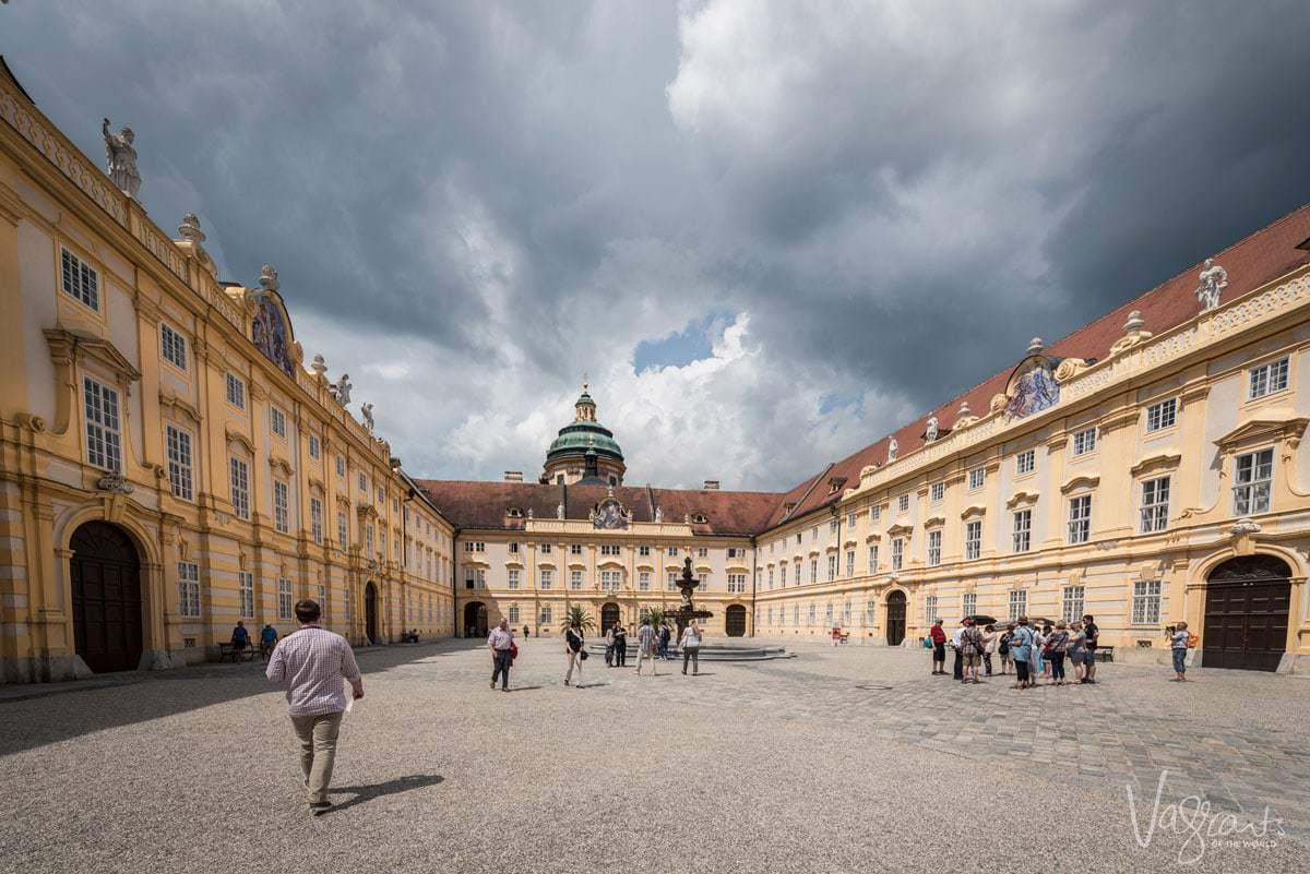 Melk Abbey Krems Austria