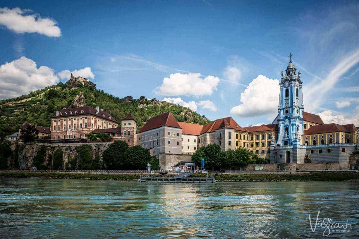 Viking River Cruises Danube Waltz Durnstein, Krems in the Wachau Valley Austria.
