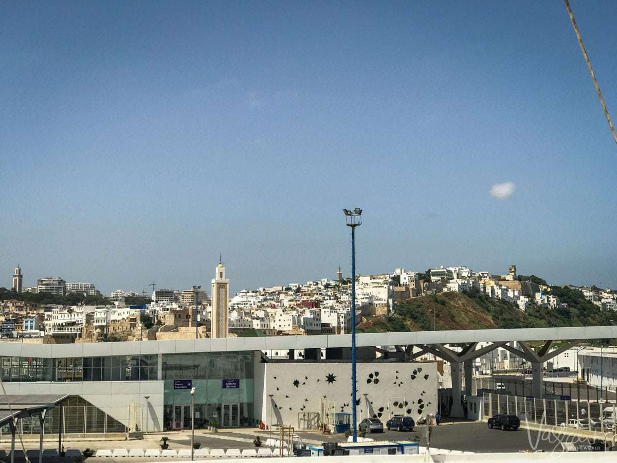 Tangier Port - Ferry Spain to Morocco