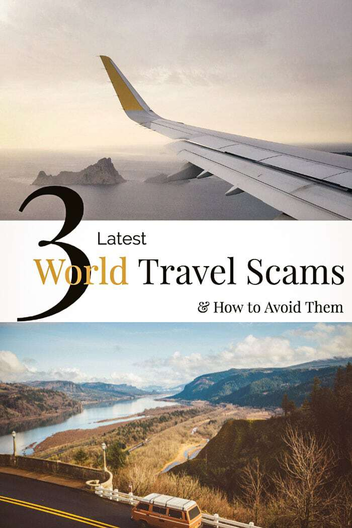 Staying up to date with travel scams can be hard. Here are 3 of the latest world travel scams to know about. #travel #traveltips #scams