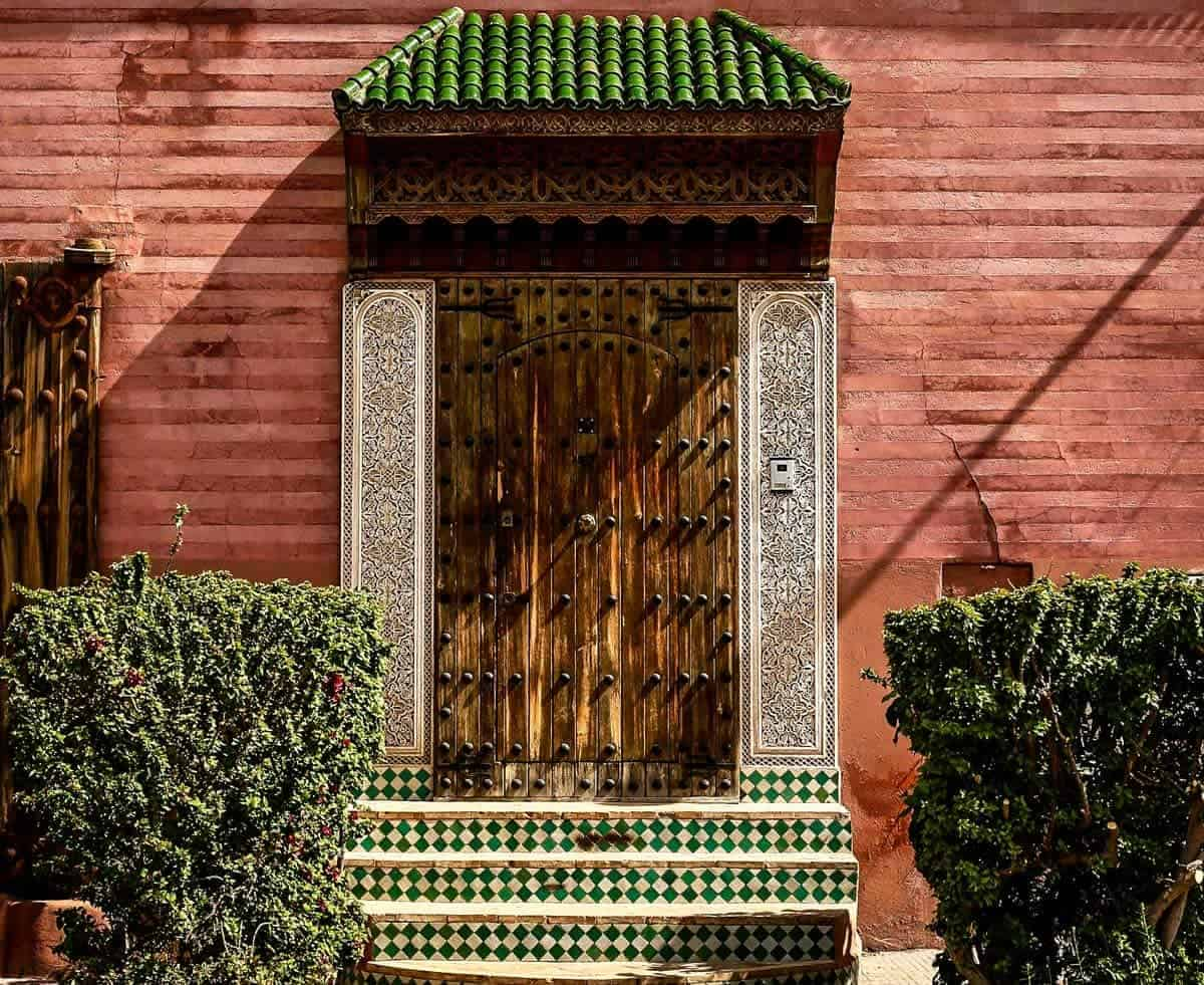 Visit the famous gardens of marrakech for a reprieve from the medina.