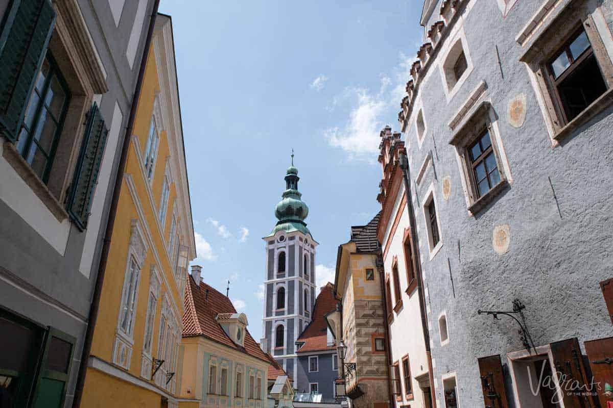 Český Krumlov in the Czech Republic