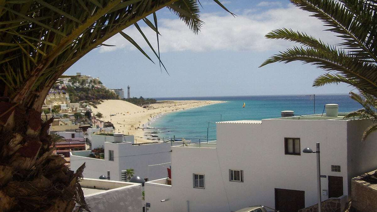 Beaches on Fuerteventura Canary Islands Spain a great way to escape winter in Europe