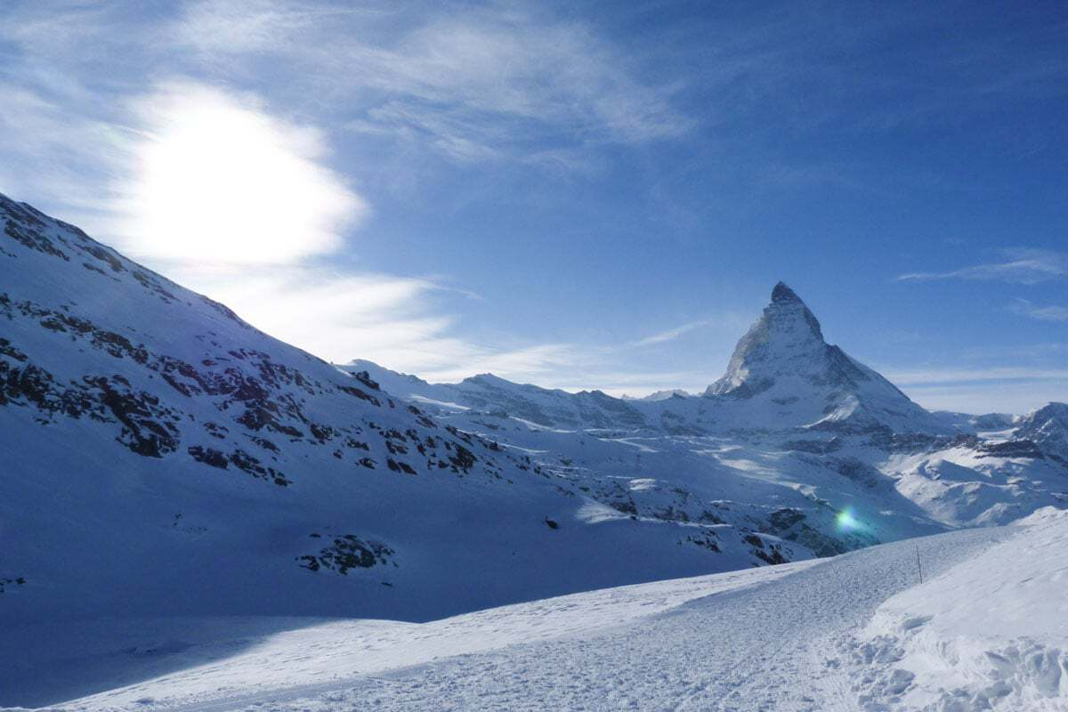 Hiking the Matterhorn - Switzerland