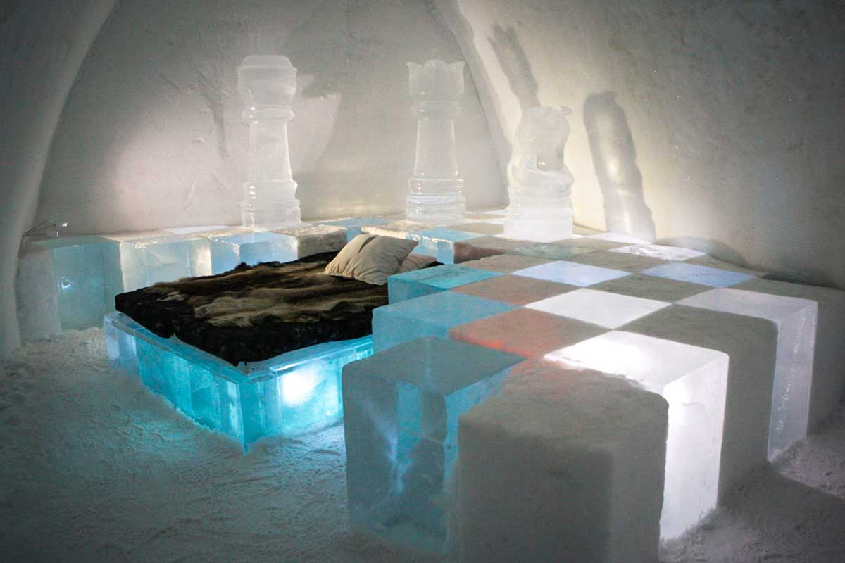 Stay at Icehotel in Sweden - Unique things to do in Europe in Winter