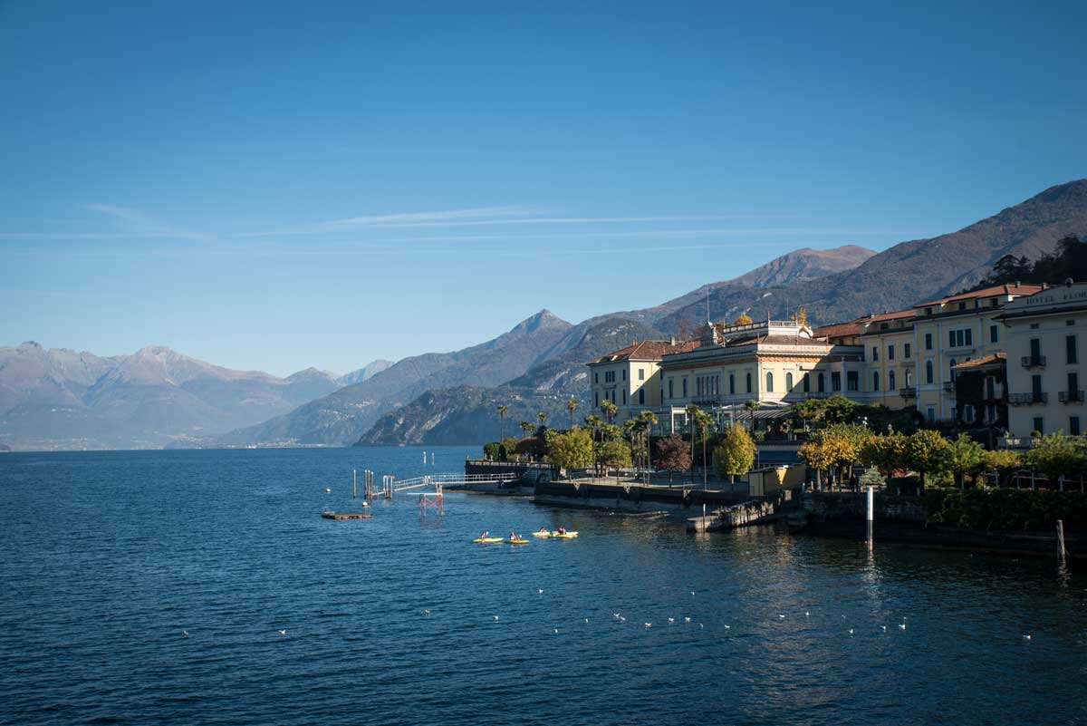 Lake Como Italy in Autumn