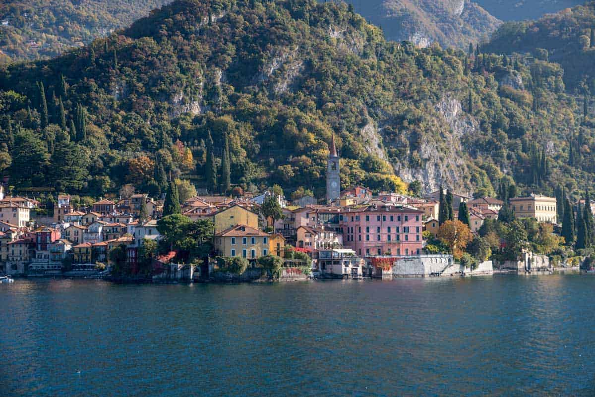 Lake Como Italy in Autumn. Best Fall Destinations in Europe