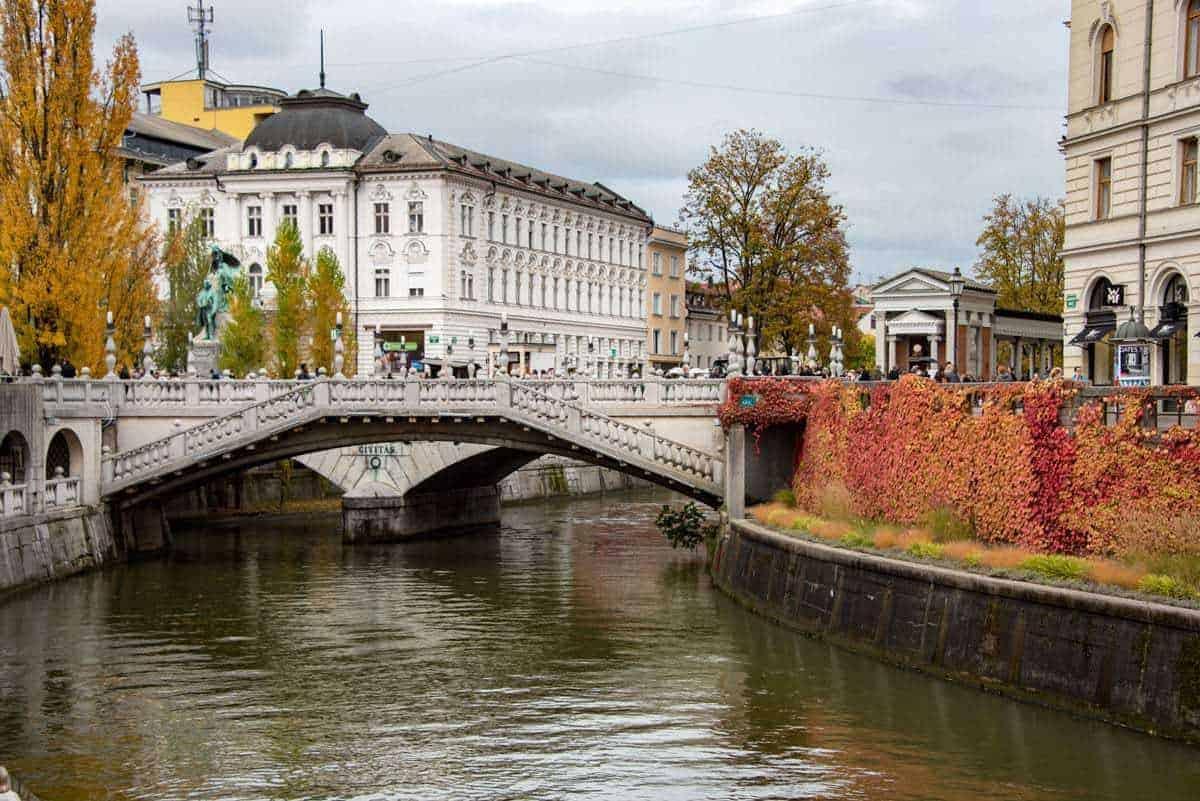 Ljubljana Slovenia in Autumn