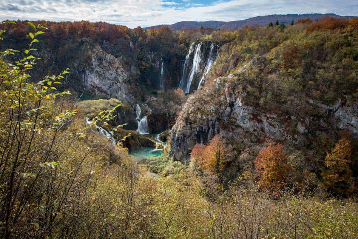Plitvice Lakes Croatia in Autumn