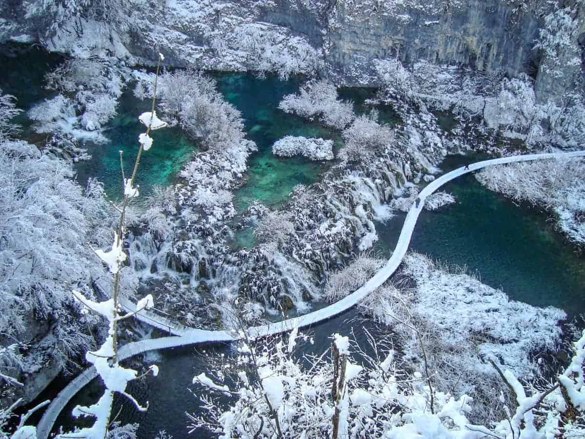 Visit Plitvice Lakes Croatia - Unique things to do in Europe in Winter