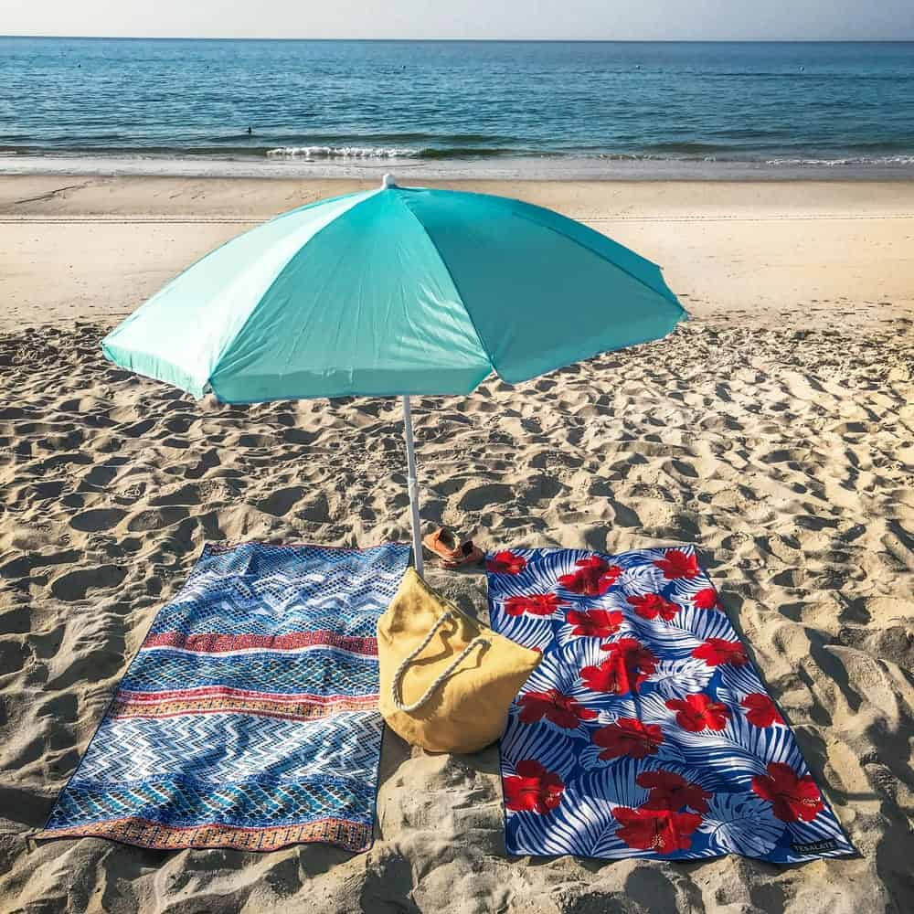 Tesalate Sand Free Beach Towel - Best Beach Towel for travel