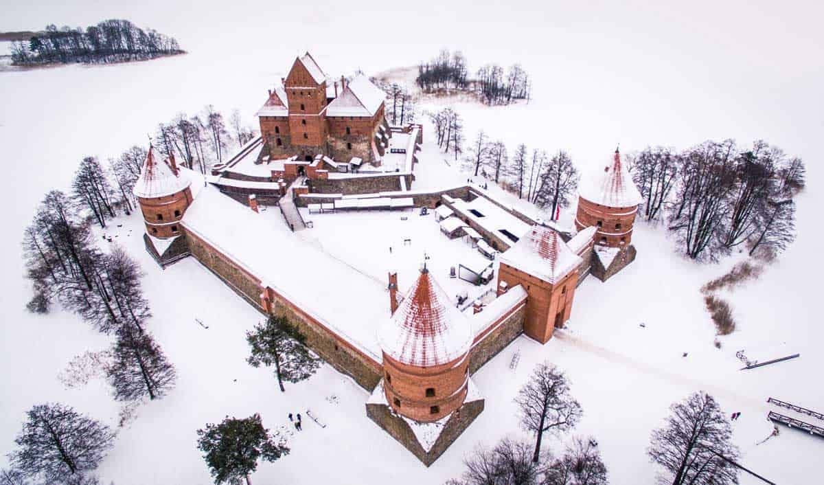 Visit Trakai Castle Lithuania - Unique things to do in Europe in Winter