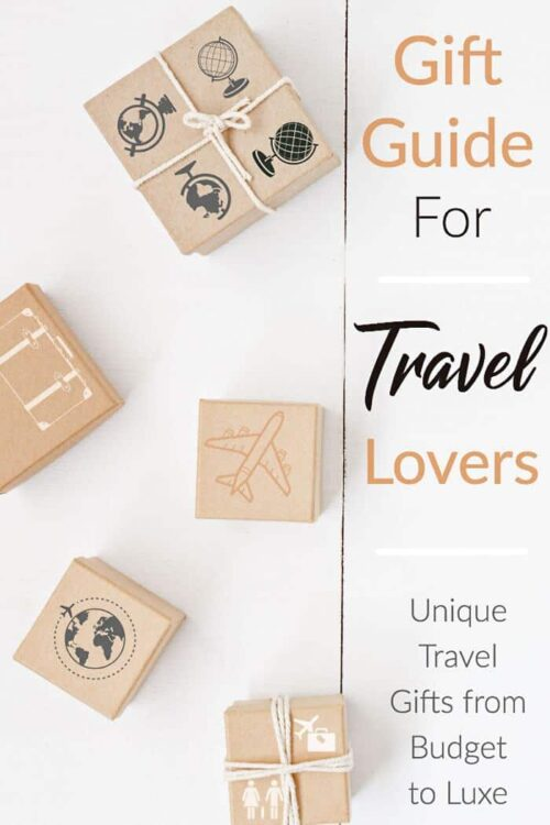 Unique and useful travel gifts for people who love to travel | Gifts for travel lovers #travelgifts #buyingguide #traveltips
