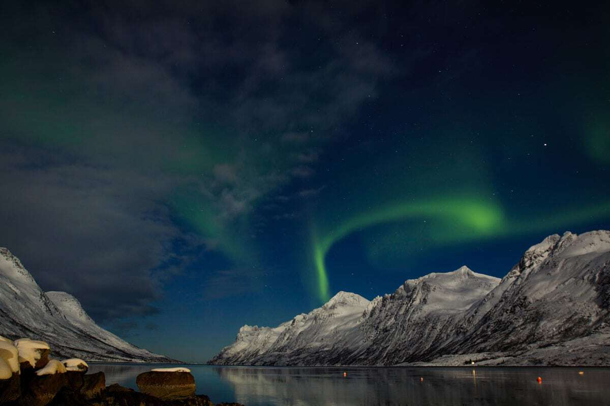 Winter cruises in Norway are a popular way for people to witness the northern lights.