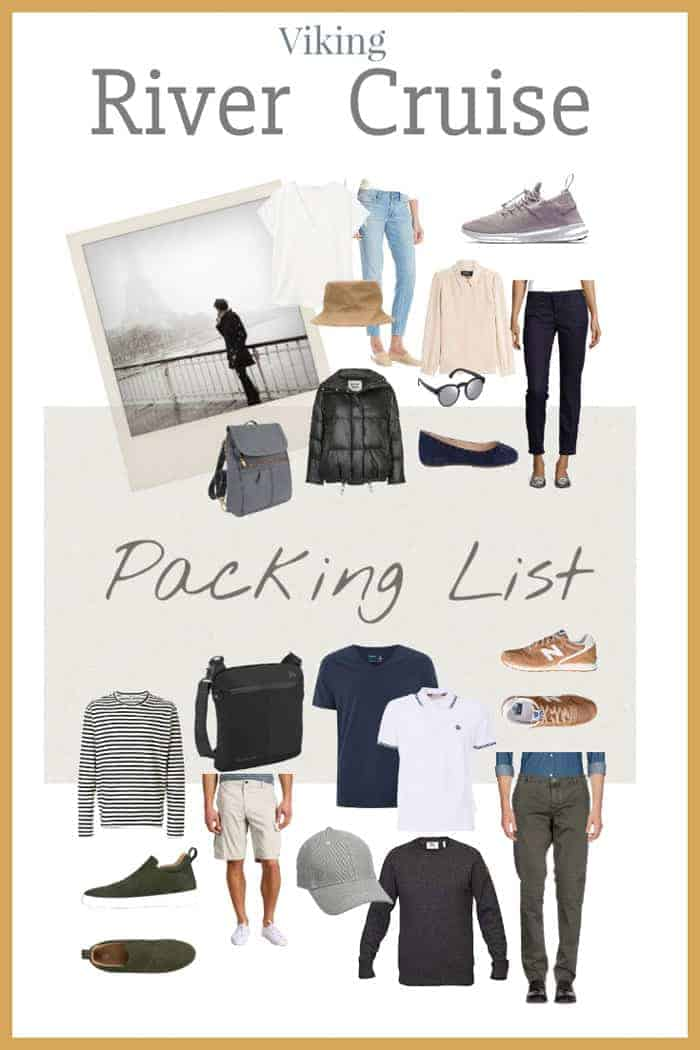 Planning a river cruise? This complete viking river cruise packing list will help you prepare with loads of cruise packing tips #vikingcruises #packinglist