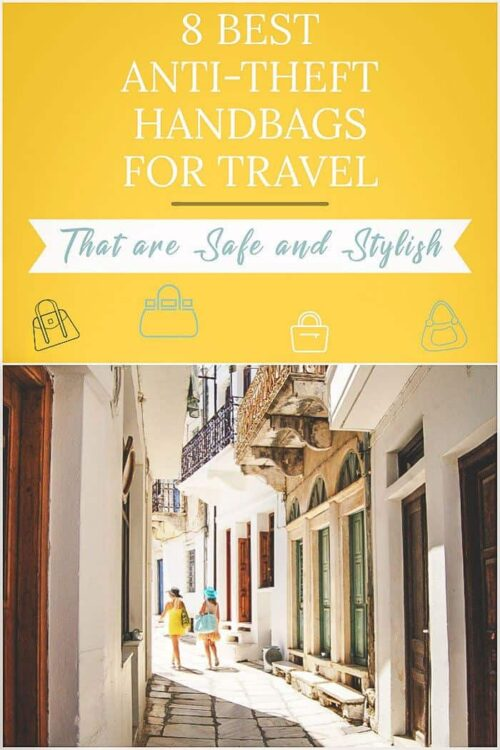 Looking for the best anti theft handbag for travel? These are the best safe and stylish purses for travel.