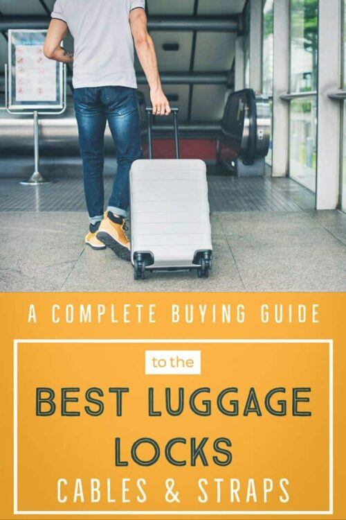 Best TSA Approved Luggage Locks | Choosing a luggage lock for travel is not as easy as you would think. Here is a complete guide to the best travel luggage locks on the market. #traveltips #luggage #luggagelocks #travelsafety