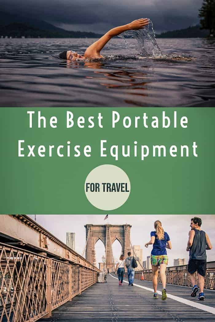 Stay fit while you travel with the best portable exercise equipment for travel #traveltips #fitness #healthytravel