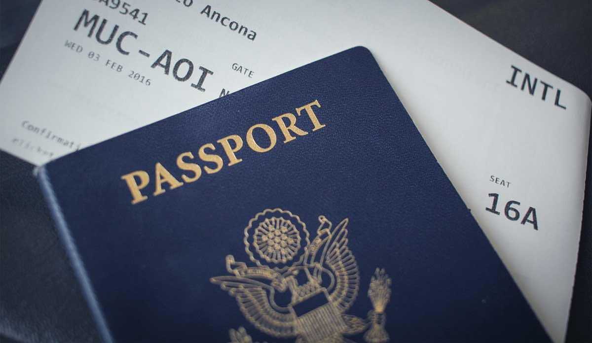 Safe Travel Tip - Register with your embassy - Passport and Boarding Pass