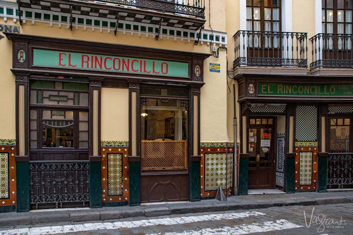 El Rinconcillo - the oldest bar in Seville and one of the best places to eat and visit.