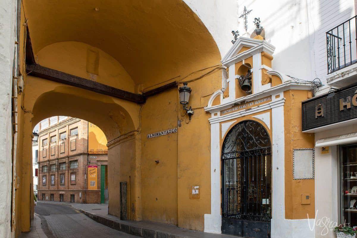 Postigo del Aceite - One of the three remaining Seville City Gates