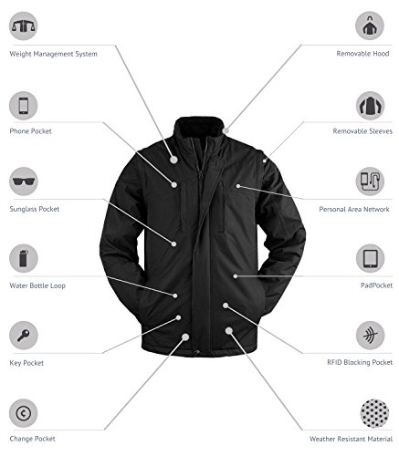 SCOTTeVEST Revolution Pickpocket Proof Travel Jacket - 26 Pocket