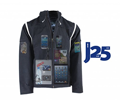 AyeGear J25 Jacket and Vest with 25 Pockets
