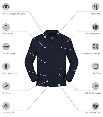 SCOTTeVEST Men's 25 Pocket Travel Jacket