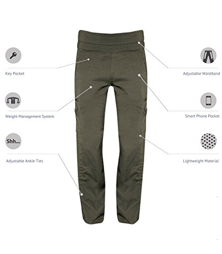 SCOTTeVEST Margaux Cargaux 11 Pocket Travel Pants