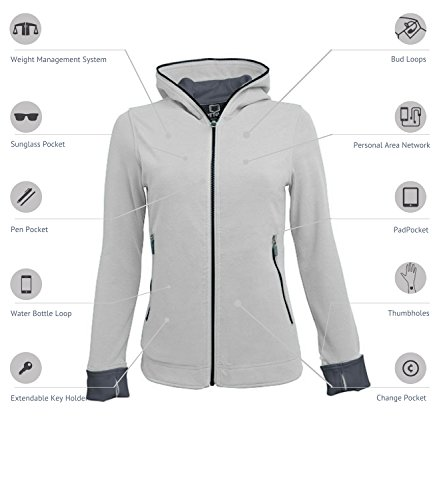 SCOTTeVEST Chloe Glow Pickpocket Proof Travel Jacket - 18 Pocket