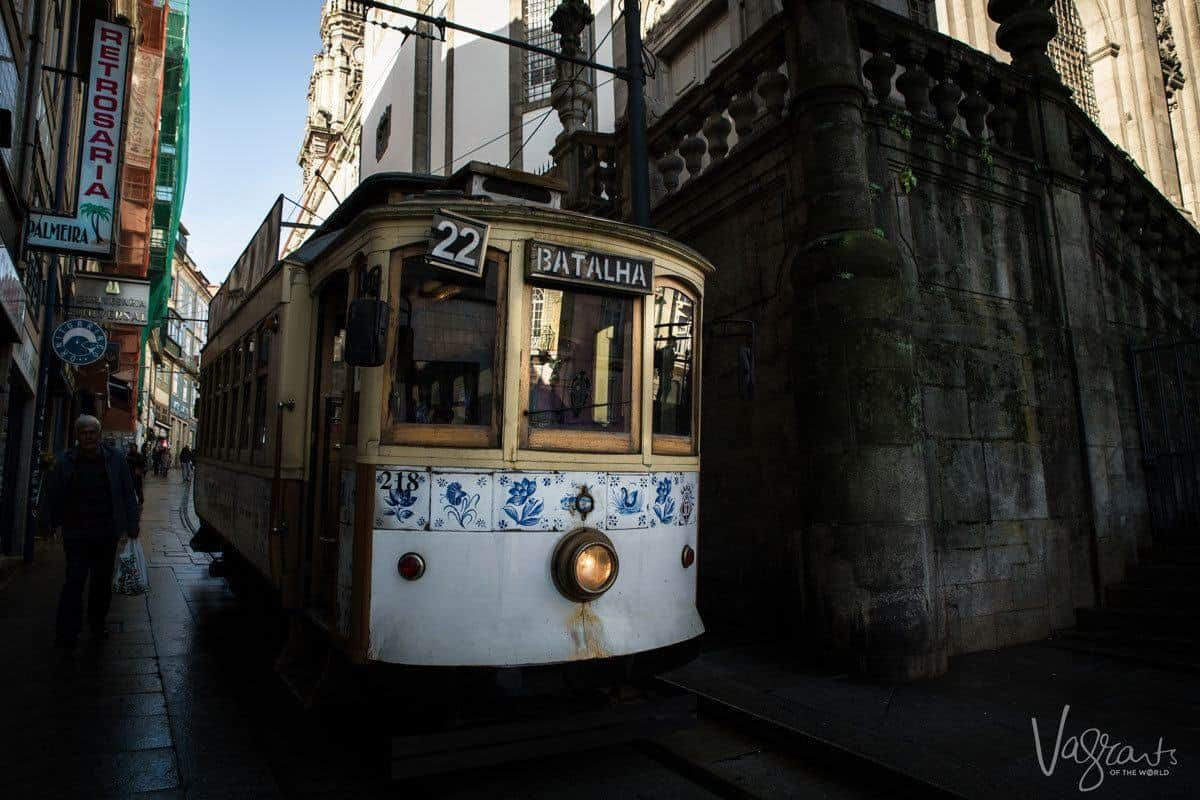 Ride this historic tram 22.